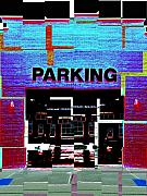 Parking Lot Framed Prints - Parking Framed Print by Tim Allen