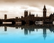 London England  Digital Art - Parliament by Sharon Lisa Clarke