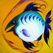 Parrot Fish Prints - Parrot Fish Five Print by J Vincent Scarpace