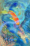 Fish Reliefs - Parrotfish by Dayton Claudio