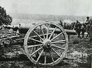 Artillery Gun Prints - Parrott Gun Print by Photo Researchers