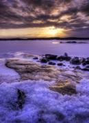 Wayne Stadler Prints - Parry Sound Sunset 2 Print by Wayne Stadler