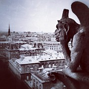 Par Photos - #pars #notredamme #gargoyle by Vicente Marti