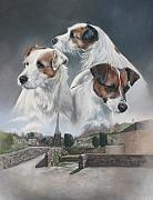 Trump Originals - Parson and Jack Russell Terriers by Lara Virginia