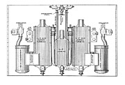 Technical Photo Posters - Parsons Marine Steam Turbines Poster by Mark Sykes