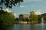 Nashville Tennessee Metal Prints - Parthenon at Nashville Tennessee 1 Metal Print by Douglas Barnett