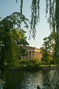Nashville Tennessee Prints - Parthenon at Nashville Tennessee 12 Print by Douglas Barnett