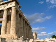 Acropolis Photo Posters - Parthenon Poster by David Bearden