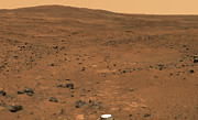 Astrogeology Prints - Partial Seminole Panorama Of Mars Print by Stocktrek Images