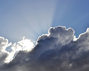 Cloud Photo Photos - Partly cloudy by Rebecca Margraf