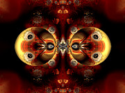 """digital Abstract"" Prints - Partners Print by Claude McCoy"