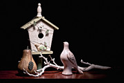 Bird House Prints - Partridge and a Pear Tree Print by Tom Mc Nemar