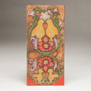 Yellow Flower Reliefs Prints - Partridge in a Pear Tree Print by James Neill