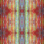 Repeat Patterns Digital Art Posters - Party 1a Poster by Sue Duda