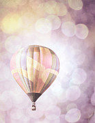 Hot Air Balloon Prints - Party Ballloon Print by Andrea Hazel Ihlefeld