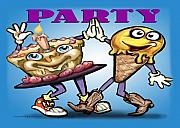 Humor Prints - Party Print by Kevin Middleton