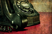 Antique Telephone Photos - Party Line II by Tom Mc Nemar