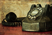 Antique Telephone Photos - Party Line by Tom Mc Nemar