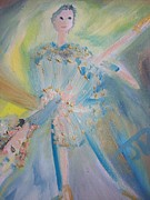Ballet Dancers Paintings - Pas de deux by Judith Desrosiers