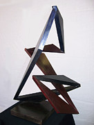 Steel Sculpture Sculptures - Paso Doble by John Neumann
