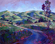 Country Western Paintings - Paso Peace by Erin Hanson