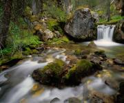 Lost River Mountains Photos - Pass Creek by Leland Howard
