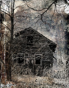Rural Decay  Digital Art - Passage Of Time by Gothicolors With Crows
