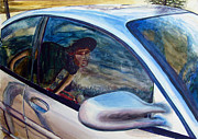 Reflective Surfaces Art - Passenger by GPaul Lucas