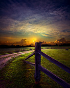 Environement Photo Posters - Passing Poster by Phil Koch
