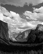 Mariposa County Prints - Passing Shadows Yosemite Valley Print by Troy Montemayor