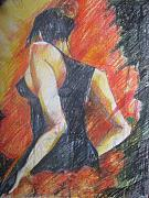 Bodyart Drawings Originals - Passion by Brigitte Hintner