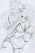 Passion Drawings Originals - Passion by Christopher Pye