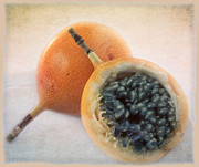 Passion Fruit Framed Prints - Passion for food Framed Print by Juan Carlos Lopez