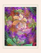 Fractal Pastels Posters - Passion for Life Poster by Gayle Odsather