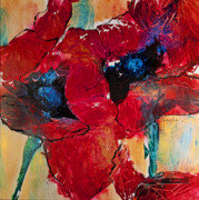 Trish Mckinney Mixed Media Metal Prints - Passion I Metal Print by Trish McKinney
