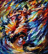 Dancer Art Prints - Passion Print by Leonid Afremov