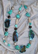 Silver Turquoise Jewelry - Passion by Olga Bejue