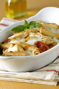 Italian Meal Photo Prints - Pasta Al Forno Print by Veronique Leplat