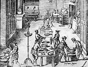 Making Posters - PASTA MAKING, 16th CENTURY Poster by Granger