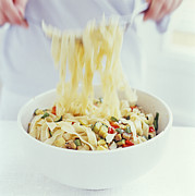 Salad Prints - Pasta Salad Print by David Munns