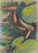 Pastel Fish Print by Michele Hollister - for Nancy Asbell