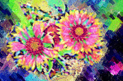 Paul Bartoszek - Pastel Flowers 1