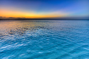Sunset Photo Metal Prints - Pastel Ocean Metal Print by Chad Dutson