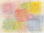Texture Pastels Prints - Pastel Oct 2012 Print by Igor Kislev