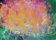 Visionary Artist Painting Prints - Pastel Painting Print by Don  Wright