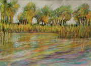 Pastel Palms Print by Michele Hollister - for Nancy Asbell