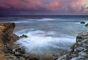 Pastel Photo Originals - Pastel Storm by Mike  Dawson
