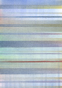 Stripes Pastels Metal Prints - Pastel Stripes Metal Print by Hakon Soreide
