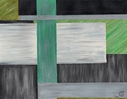 Line Pastels Originals - Pastel2 by Jase Goldsberry