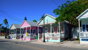 Pastels Of Key West Print by Susanne Van Hulst